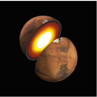 Interior of Mars Space NASA Photo Cut Outs