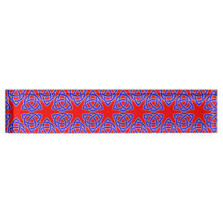 INTERLACED: RED & BLUE ILLUSION  ~ NAMEPLATE