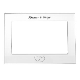 """Interlocking Hearts"" Magnetic Frame"