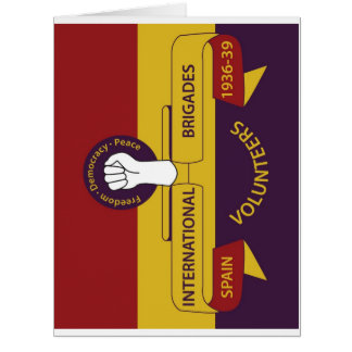 International Brigades Card