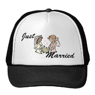 Interracial Lesbian Wedding Cap