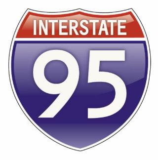 Interstate 95 photo sculpture decoration