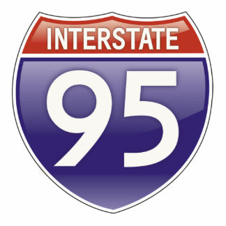 Interstate 95 photo cut outs