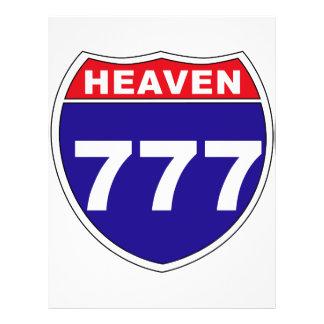 """Interstate"" Heaven 777 21.5 Cm X 28 Cm Flyer"