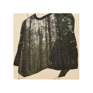 Into the Woods Wood Wall Decor