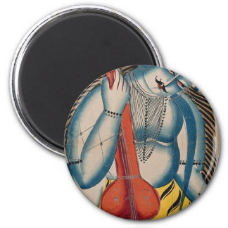 Intoxicated Shiva Holding Lamb Magnet