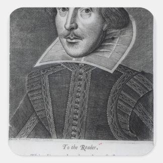 Introduction, 'Mr. William Shakespeares Square Sticker