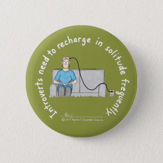 Introvert Basics: Recharge Olive Button