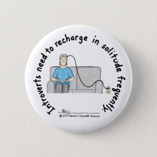 Introvert Basics: Recharge White Button