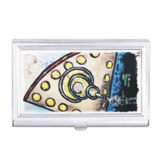 Invasion at area51 - business card business card holder