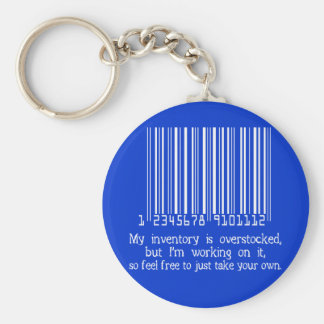 INVENTORY BASIC ROUND BUTTON KEY RING