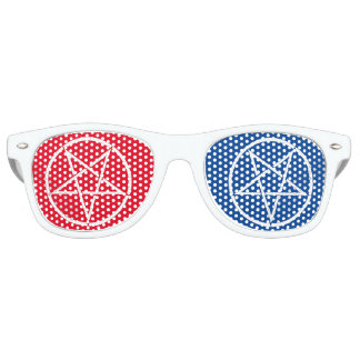 Inverted pentagram w/ 3D-style colors