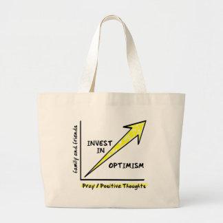 INVEST IN OPTIMISM CANVAS BAGS