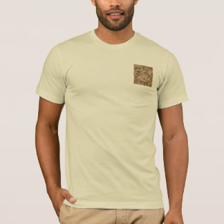 Invisible Desert Storm Tan Camo tee shirt