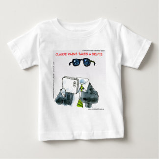 Invisible Selfie Funny Baby T-Shirt