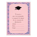 "Invitacion de Graduacion 5"" X 7"" Invitation Card"