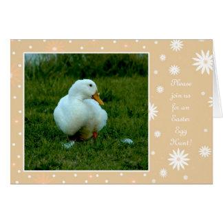 Invitation Easter Dinner or Egg Hunt
