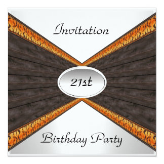 Invitation Envelope Any Birthday 21st Birthday Custom Invites