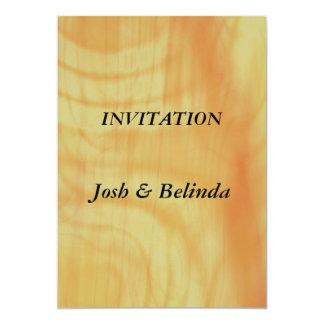 "Invitation Flames Wedding Invitation 5"" X 7"" Invitation Card"