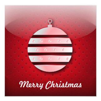 Invitation icon Christmas ball