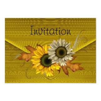 Invitation Lemon Envelope Yellow SunFlower