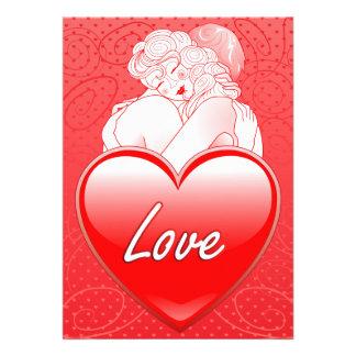 Invitation Love's embrace