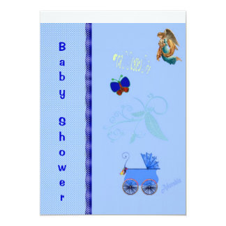 Invitation to Baby shower, Christening or Baptism