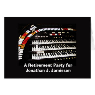 Invitation to Retirement Party, Keyboard