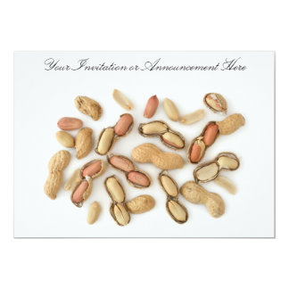 Invitations or Innouncements with Peanuts