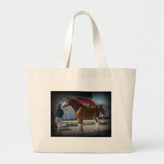 Iowa Clyde Show  Missy black border Large Tote Bag