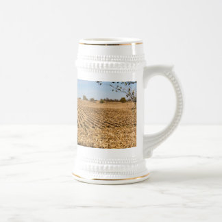 Iowa Cornfield Panorama Beer Stein