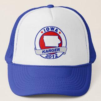 Iowa Fred Karger Trucker Hat