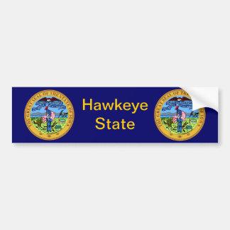 Iowa Great Seal Bumper Sticker