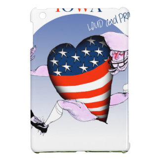 iowa loud and proud, tony fernandes iPad mini case