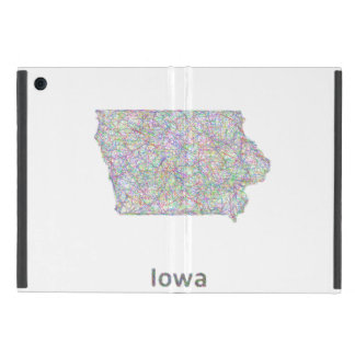 Iowa map iPad mini cover