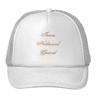 Iowa National Guard Mesh Hat