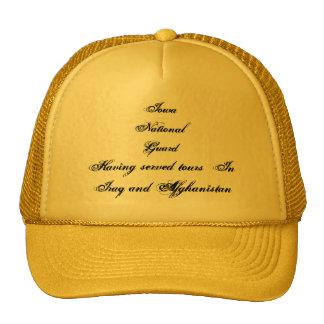 Iowa National Guard Mesh Hats