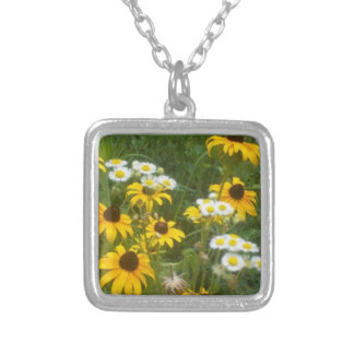 Iowa Prairie Flowers Necklace - by Fern Savannah