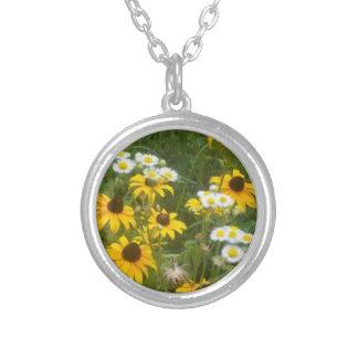 Iowa Prairie Flowers Necklace - by Fern Savannah