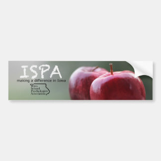 Iowa School Psychologists Assoc. Bumper Sticker