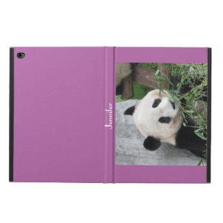 iPad Air 2 Folio Case, Giant Panda, Purple