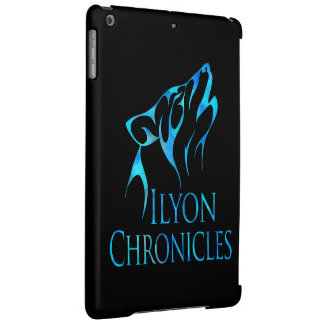 iPad Air Ilyon Chronicles Blue Wolf Case