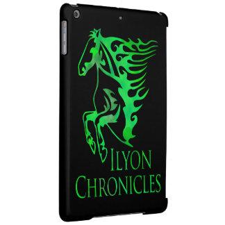 iPad Air Ilyon Chronicles Green Horse Case