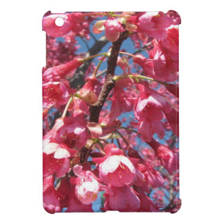 iPad Mini Case with Pink Cherry Blossoms