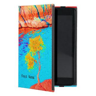 iPad Mini Folio Case Colorful Landscape Scene Cases For iPad Mini