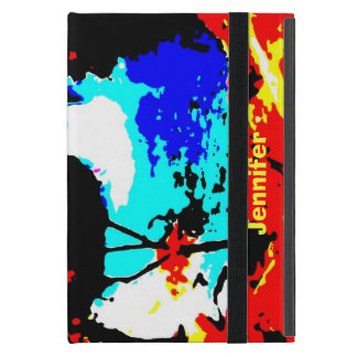 iPad Mini Folio Case, Colorful Waterfall iPad Mini Cover
