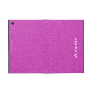 iPad Mini Folio Case, Hot Pink Solid iPad Mini Covers