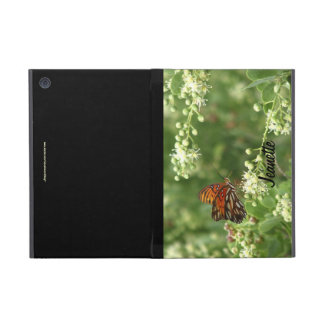 iPad Mini Folio Case, Orange Butterfly iPad Mini Cases