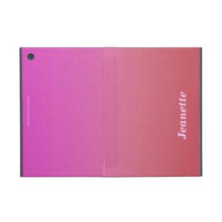 iPad Mini Folio Case, Peach to Hot Pink Fade iPad Mini Covers