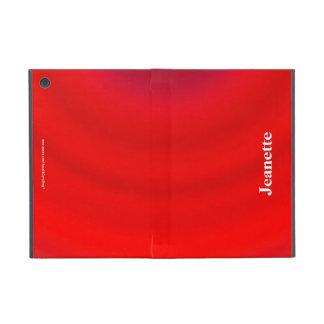 iPad Mini Folio Case, Red Gradient Cases For iPad Mini